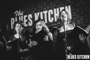 Gospel Choir - Phoebe lead (B&W)